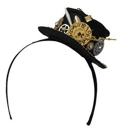2-5-Steampunk-Mini-Top-Hat-Headband-with-Clock-and-Gears