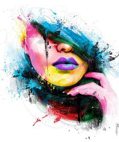 Colorful Paintings by Patrice Murciano | Draw As A Maniac