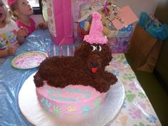 buttercream dog cake | Dreaming in Buttercream: Doggy Cake