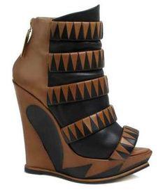 Atalanta Weller's Autumn/Winter 2012 Shoe Collection is Striking trendhunter.com