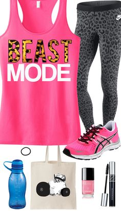 Bring out the #Beast in the Gym! Cool Leopard Pink #Workout Gear featuring a Beast Mode Leopard Racerback from #NobullWomanApparel. $24.99 on Etsy, click here to buy www.etsy.com/... Find more like this at gympins.com
