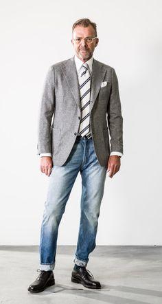 Older Mens Clothing, Older Mens Fashion, Old Man Fashion, Preppy Mens Fashion, Mens Clothing Styles, Business Casual Men, Men Casual, Mode Bcbg, Classy Men