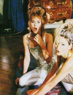 Meghan Douglas and Tereza Maxova for Vogue UK by Dewey Nicks