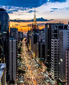Sao Paulo Brazil, Brazil Brazil, Rio Carnival, City People, Travel Words, Natural Phenomena, South America Travel, Night City, Wonders Of The World