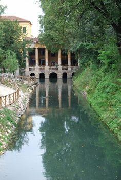 Ancient Villa, Vicenza, Veneto, Italy