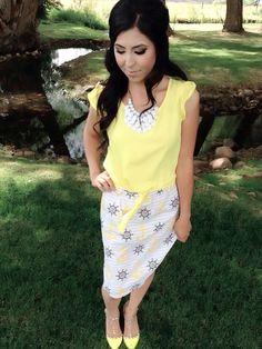 Modest Summer outfit inspiration!