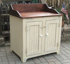 Primitive Bathroom Vanities | loaves of bread or other storage requirements.