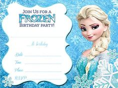Frozen Birthday Party Ideas Frozen Party Invitations Frozen - Party invitation template: frozen birthday party invitation template