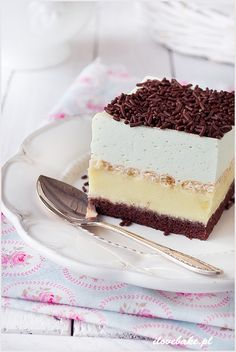 Find images and videos about food, sweet and chocolate on We Heart It - the app to get lost in what you love. Bakery Cakes, Polish Recipes, Let Them Eat Cake, Cupcake Cakes, Cupcakes, Sweet Treats, Cheesecake, Food And Drink, Sweets