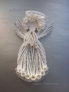 Quilling by Larisa Litvinenko, Kiev, Ukraine.  Found on her blog:  quillingskazka.blogspot.com