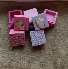 Tooth fairy gift boxes personalised #craftyhands