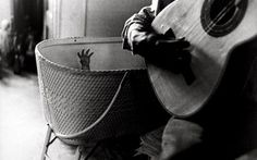 From Paci contemporary, Ralph Gibson, Baby's Hand and Guitar Silver print, 12 × cm Ralph Gibson, Robert Frank, Bangkok, Hitchcock Film, Become A Photographer, Baby Hands, Foto Art, Expositions, Great Photographers