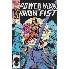 POWER MAN AND IRON FIST #124   1981-1986   VOLUME 1   MARVEL    $4.80