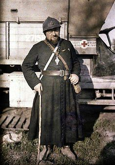 WWI,The Great War In Colour , French chaplain