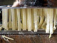 Pâtes fraîches maison - La réalisation de la pâte à nouilles
