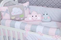Decoração do quarto de bebê com nuvens: o seu kit berço está aqui!