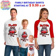15% Off Disney Cars Birthday Shirt Lightning McQueen and