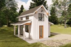 Modern Tiny House, Tiny House Cabin, Tiny House Living, Tiny House Design, Best Tiny House, Shed To Tiny House, Small Cabin Designs, Tiny Guest House, Tiny Cabins