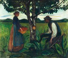 Edvard Munch: Fruktbarhet, 1899-1900. Canica Kunstsamling
