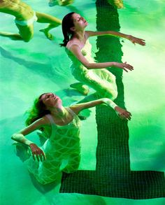"""""""Floating""""photographed by Steven Meisel for Vogue Italia"""