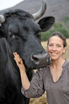 This amazing woman, Jenny Brown, founded Woodstock Farm Animal Sanctuary with her husband, and recently wrote a book about her transformation from conservative Southern baptist to ardent animal activist. Her book, The Lucky Ones, was just released this week