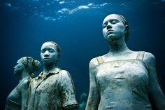 Jason deCaires Taylor: sculptor