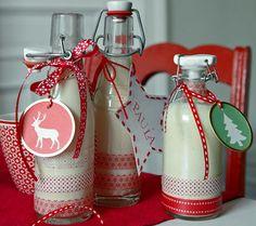 Schön verpackter Weihnachtslikör - Last-Minute-Geschenke zu Weihnachten 3