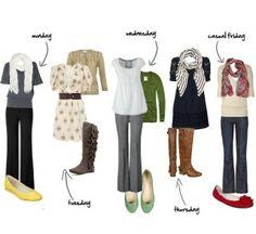 Cute teacher outfits!