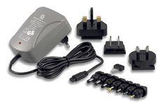 Caricabatterie per videocamere e fotocamere, universale