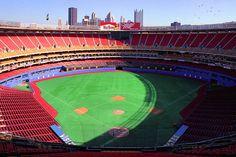 Three River's Stadium for baseball