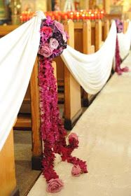 DECORACION DE IGLESIAS PARA BODA MATRIMONIO CASAMENTO WEDDING