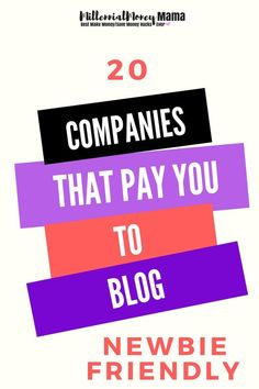 Need some help monetizing your blog? Grab this free blog sponsorship cheat sheet with a list of 20 companies that pay you to blog! #bloggingforbeginners #bloggingnewbies #blogging #bloggingideas #bloggingformoney #makemoneyblogging #workfromhome #blogsponsorship | millennialmoneymama.com