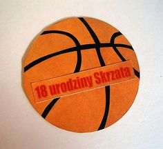 Kolorowy Światek : Koszykarska kartka na 18-stkę