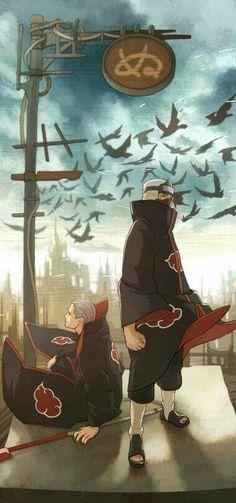 Hidan and Kakuzu - Anime Otaku Anime, Anime Naruto, Manga Anime, Naruto Shippuden Sasuke, Sharingan Kakashi, Madara Uchiha, Hinata, Naruto Wallpaper, Wallpaper Naruto Shippuden