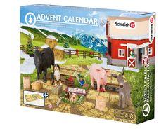Schleich 97052 - Adventskalender Bauernhof 2015: Amazon.de: Spielzeug