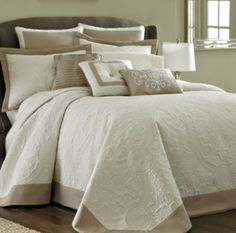 "<p>The Bensonhurst bedspread and accessories will bring understated elegance to your bedroom.</p><div style=""page-break-after: always;""><span style=""display: none;"">"