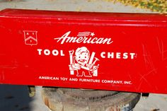 American Tool Chest Toy