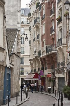 Walking the Streets of Paris Photograph  - Walking the Streets of Paris Fine Art Print  want to be here