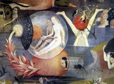 Garden of Earthly Delights (Detail), Hieronymous Bosch