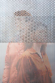 Invertuals 4 - Cohesion is a photo series created by Eindhoven-based studio Raw Color for the group Dutch Invertuals. Perforated Metal Panel, Metal Panels, Red Malla, Raw Color, Photographs Of People, Art Club, Wall Design, Art Photography, Profile Photography