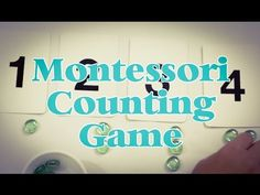 ▶ Montessori Inspired Counting Game - YouTube