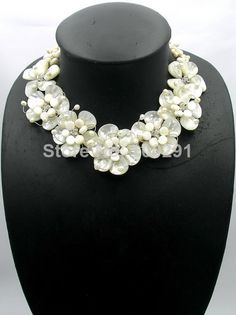 2014 New Fashion African Beads Flower Necklace For Party Or Wedding MN-1944 $56.99
