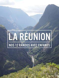 Voici 12 idées de randonnées sur l'île de la Réunion : nous avons profité de ces randos en portant nos enfants (2 ans 1/2 et 4 mois)