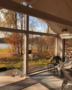 Future House, Haus Am See, Autumn Cozy, Autumn Aesthetic, Best Seasons, House Goals, Humble Abode, Architecture, My Dream Home