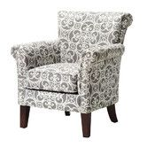 "$299.99, 19.38"" seat height  http://www.wayfair.com/Brooke-Arm-Chair-FPF18-0108-QMP2826.html"