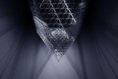 artchipel:  United Visual Artists - Fragment, Dubai...