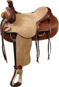 Roper Style Saddle (