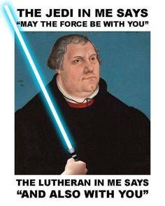 I'm not Lutheran but this. I'm an Episcopalian, tho. Christian Girls, Christian Humor, Christian Cartoons, Martin Luther Memes, Lutheran Humor, Reformation Sunday, Martin Luther Reformation, Religion Memes, Church Humor