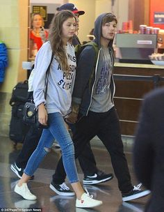 Positive influence: It has recently been reported that Louis Tomlinson's girlfriend Eleano...