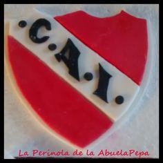 Adorno torta Escudo Independiente